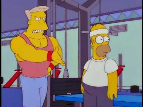 The Simpsons What's A Gym