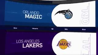 LA Lakers vs Orlando Magic Game Recap | 11/25/18 | NBA