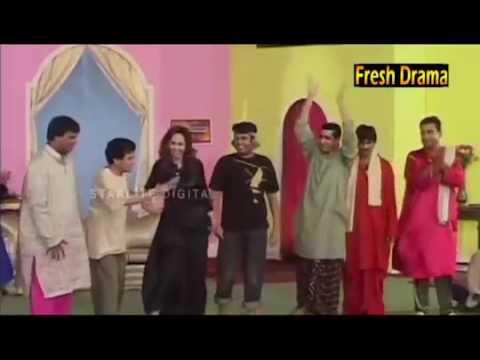 FUNNY QAWALI   TEDDY ZAFRI NASEEM VICKY  DEEDAR  SAJJAN ABBAS  Pakisatn stage drama latest
