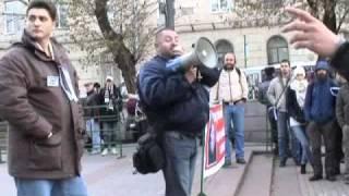 Митинг в поддерку Егора Бычкова (Москва, 23.10.2010) Часть 5(Часть 5 - Евгений Малёнкин (