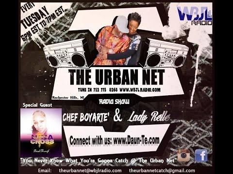 "The Urban Net Radio Show ""Nina Cross"" Rochester, MI 10-4-16 WBJL"