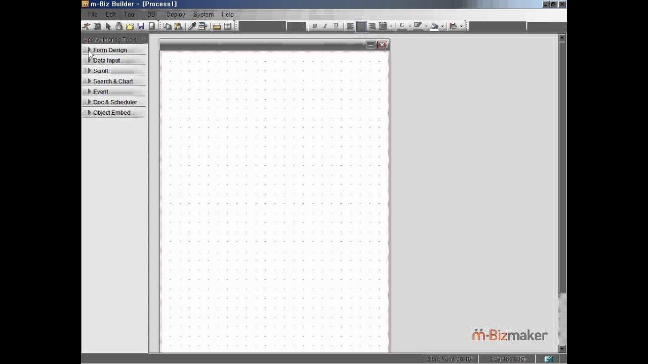 Free & New App development tool!(1)-Intro of m-Biz maker