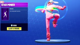 *NEW* STAR POWER EMOTE DANCE!! Fortnite Battle Royale