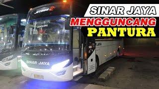 MANTAP JIWA! Sinar Jaya menyalip semua bus di depannya! Haryanto, Bejeu, Shantika, dll.
