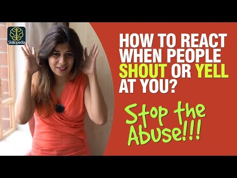 how-to-react-when-people-shout-or-yell-at-you?-dealing-with-rude-people-|-self-improvement-training