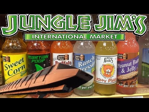 Jungle Jim's International Market Full Tour (Theme Park for Food)