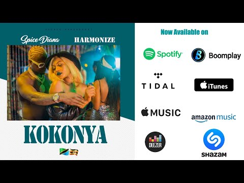 Spice Diana & Harmonize - Kokonya (Official Audio)