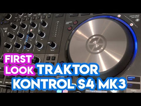 Traktor Kontrol S4 MK3 First Look