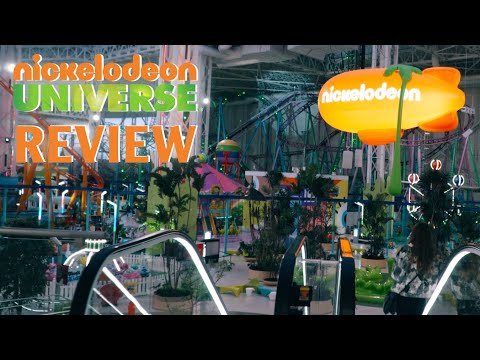 Nickelodeon Universe Review | American Dream Mall, New Jersey