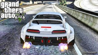 GTA 5 REAL LIFE MOD #564 - NOVA VS  THE SUPRA!!! (GTA 5 REAL LIFE MODS)