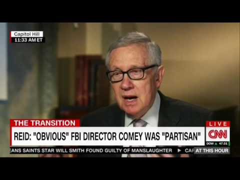 Harry Reid: Russia And FBI Director Comey Are The Reason Why Trump Is President