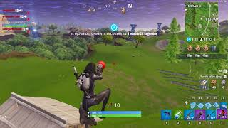 Fortnite: Kill con doble espinazo en movimiento (buenísima chavaaal)