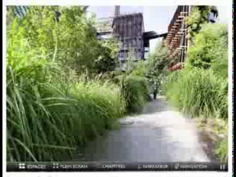 Visite virtuelle du jardin du mus e quai branly youtube for Jardin quai branly