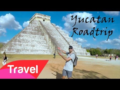 Yucatán Roadtrip - Cenote, Chichén Itzá and the world's first all included hostel!
