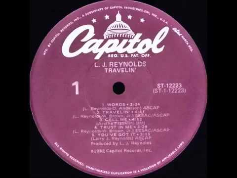 L.J Reynolds - Trust In Me (Club Mix)