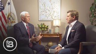 VP Mike Pence Talks 2020, Nikki Haley, Nuking Hurricanes, Buying Greenland & More
