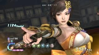 Samurai Warriors 4 II (PC) - Survival Mode (Standard) Level 100 - Character Nene