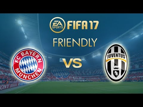 FIFA 17 | Bayern Munich vs Juventus | Friendly Match | CPU vs CPU | PS4 Full Gameplay