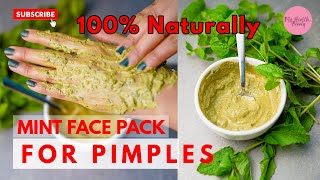 Mint Face Mask for Acne and Pigmentation l Get Glow Skin l Remove pimples l For All Skin Types 2020