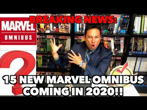 BREAKING NEWS: 15 NEW MARVEL OMNIBUS Coming in 2020!!