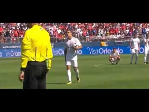 Мхитарян забил пенальти. «Манчестер Юнайтед» выиграл у мадридского «Реал»-а