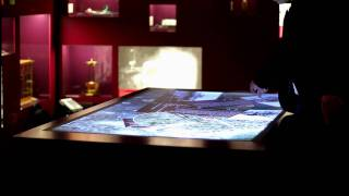 Multitouch Table for Humboldt University, Berlin, Client: Duncan McCauley