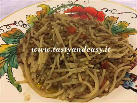 pasta e lenticchie ricetta semplice e salutare pronta in 30 minuti