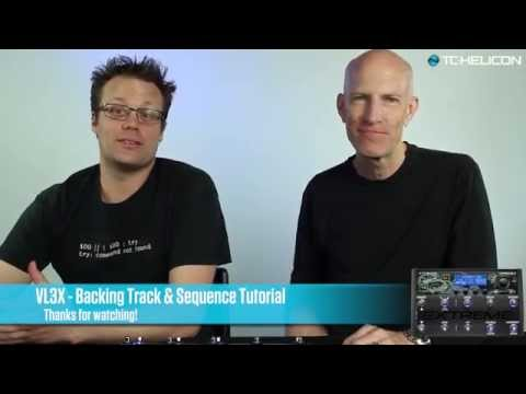 VL3X Backing Track & Automation Tutorial