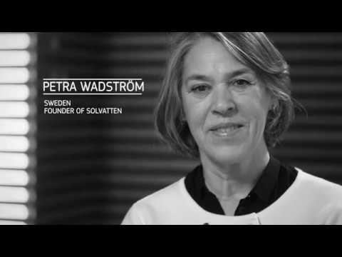 2nd Prize: Petra Wadström - EU Prize for Women Innovators 2017