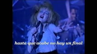 Cyndi Lauper - All Through The Night (Subtítulos español)