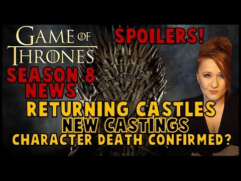 Game of Thrones Filming News: Returning Castles, Flaming Swords, New Castings