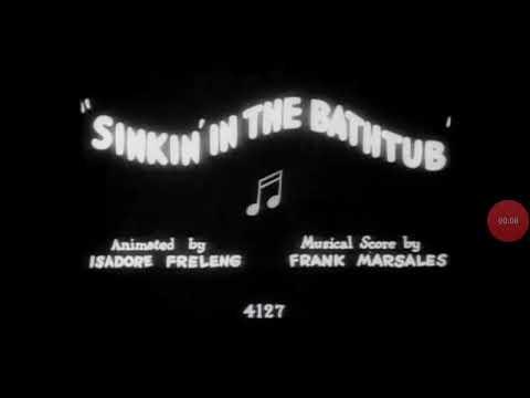 Sinkin'in the bathtub
