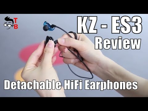 KZ-ES3 Review: 2-in-1 Bluetooth and Wired HiFi Earphones (Officia Video)
