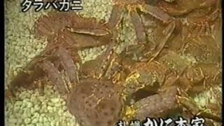 札幌かに本家CM 1992【北海道ローカル】