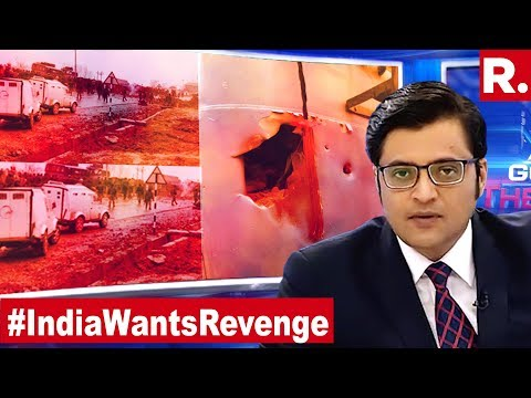 Biggest Ever Attack On India, 44 Jawans Martyred In Kashmir Attack | The Debate With Arnab Goswami