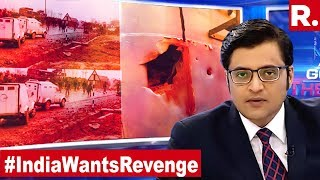 Biggest Ever Attack On India, 44 Jawans Martyred In Kashmir Attack The Debate With Arnab ...