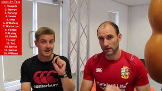 british irish lions vs hurricanes 2017 2nd test selection rugbyanalyst