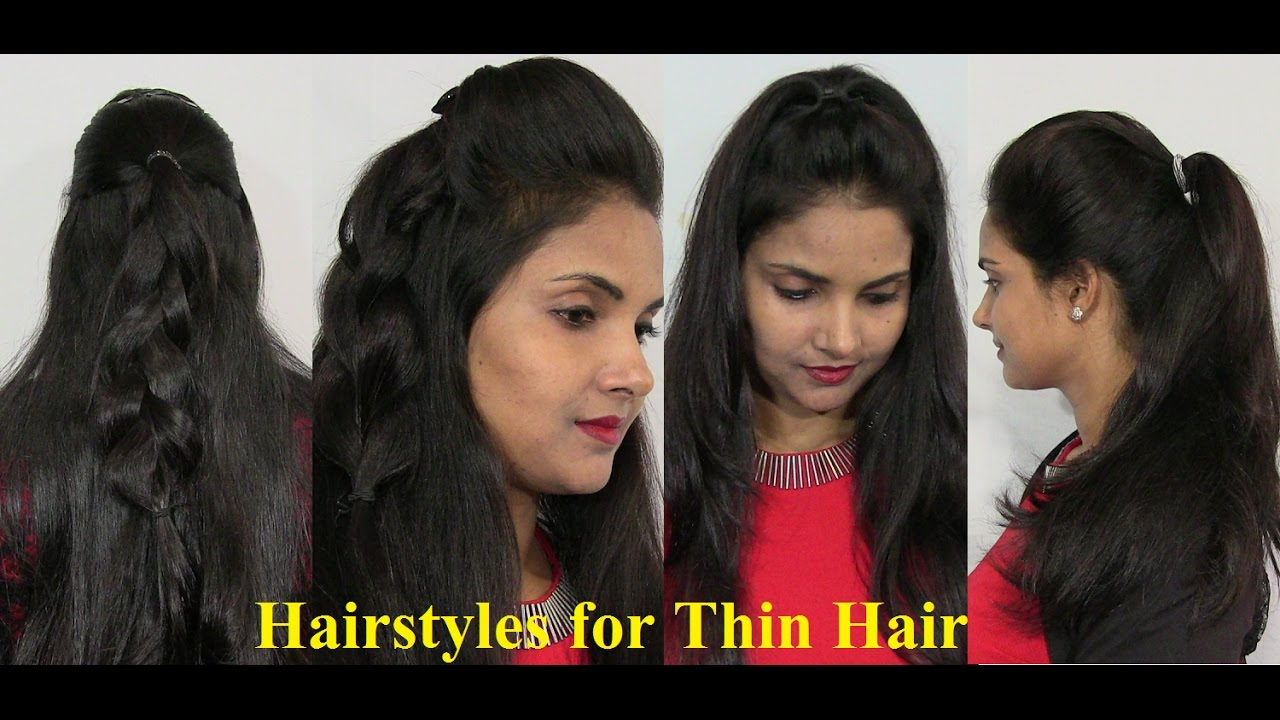 Natural Hairstyles For Thin Hair Easy And Simple Thin Hair Styles
