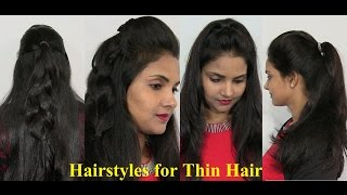 Natural Hairstyles for Thin Hair - Easy and Simple Thin Hair Styles