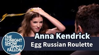 Jimmy and Pitch Perfect's Anna Kendrick take turns smashing eggs on their heads without knowing which are cooked and which are raw. Subscribe NOW to The ...