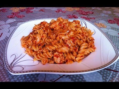 Макароны по-флотски/Pasta With Meat/Очень Простой Рецепт(Вкусно и Быстро)