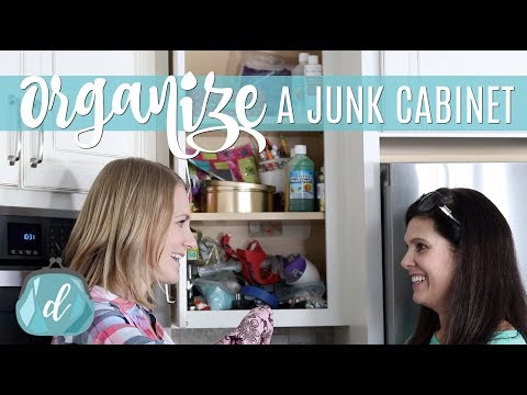 DOLLAR TREE ORGANIZATION 💙 Multipurpose Space & Junk Drawer Tips!
