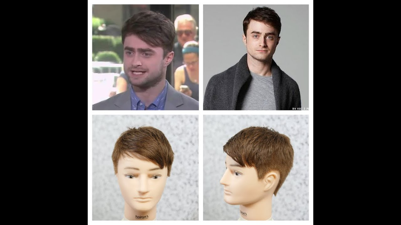 daniel radcliffe new haircut tutorial