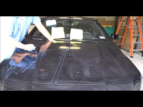 """How to remove Epoxy spray paint overspray 2014 Mercedes-Ben """"Auto Paint Overspray Removal of Texas"""""""