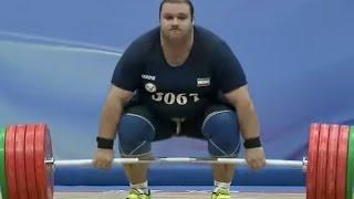 2016 Asian Weightlifting Championships, Men +105 kg \ Тяжелая Атлетика. Чемпионат Азии