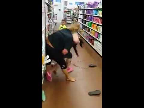 Bat Crazy Walmart Catfight | White Trash at their Worst thumbnail
