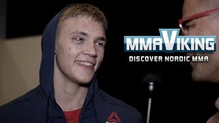 Oliver Enkamp UFC Sweden Post Fight Interview