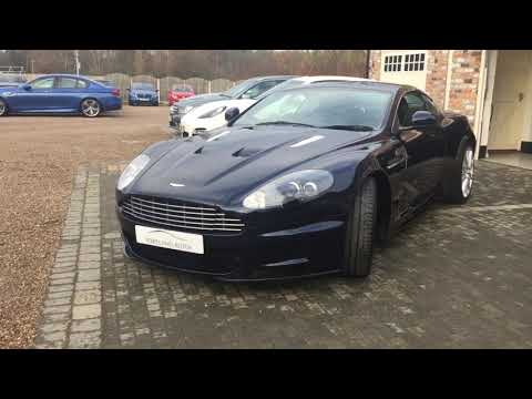 ASTON MARTIN DBS 6.0 V12 2+2 FOR SALE IN MIDNIGHT BLUE