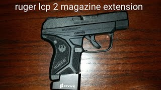 Ruger LCP 2 magazine extension