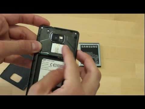 Samsung Galaxy S II Quickstart